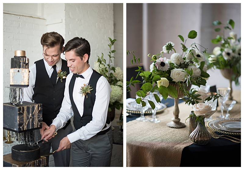 Art Deco-Inspired Wedding