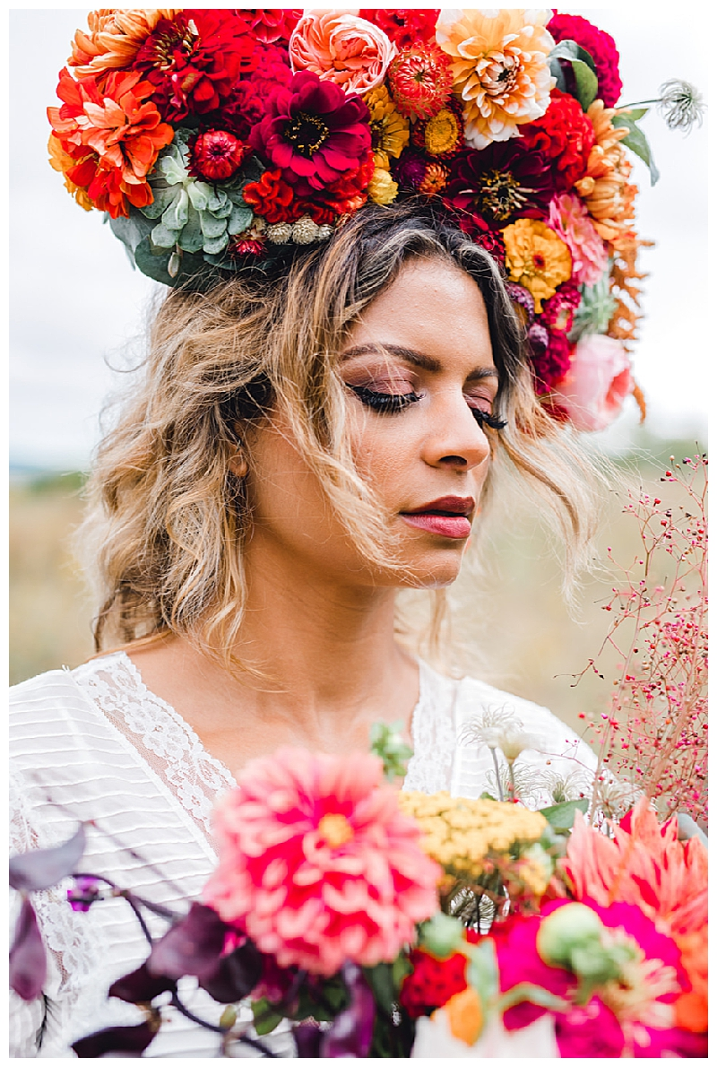 Beyonce-Inspired Floral Headpiece