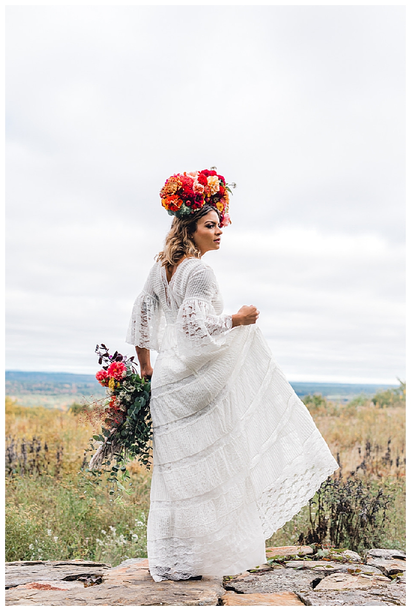 Bohemian Bridal Dress BHLDN