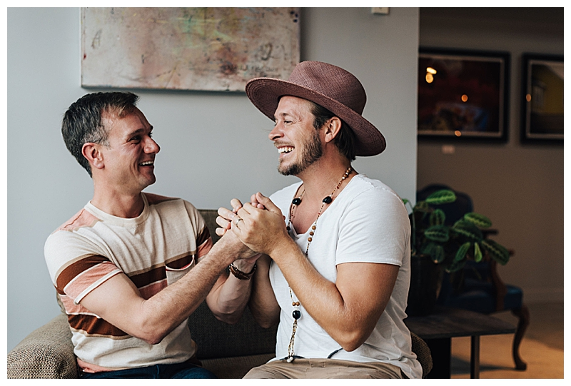 Boho Fashion Gay Engagement Shoot