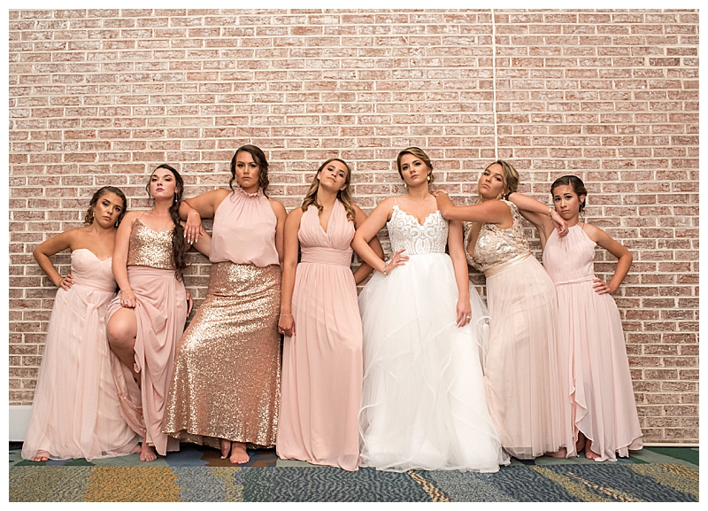 Bridesmaids Movie Wedding Pose