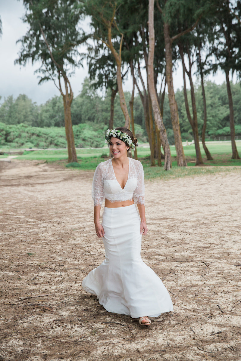 boho wedding dress separates