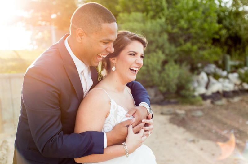 Image for Waterfront Chesapeake Bay Wedding with Glam Details