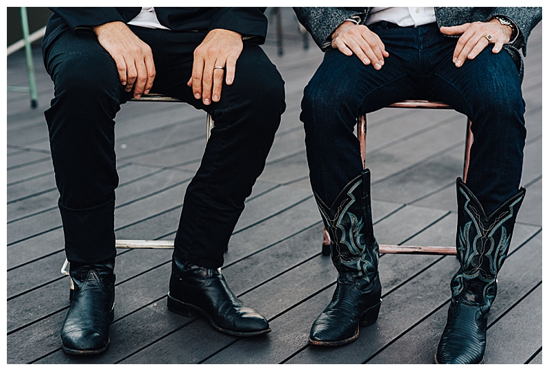 Cowboy Boots Gay Engagement Shoot