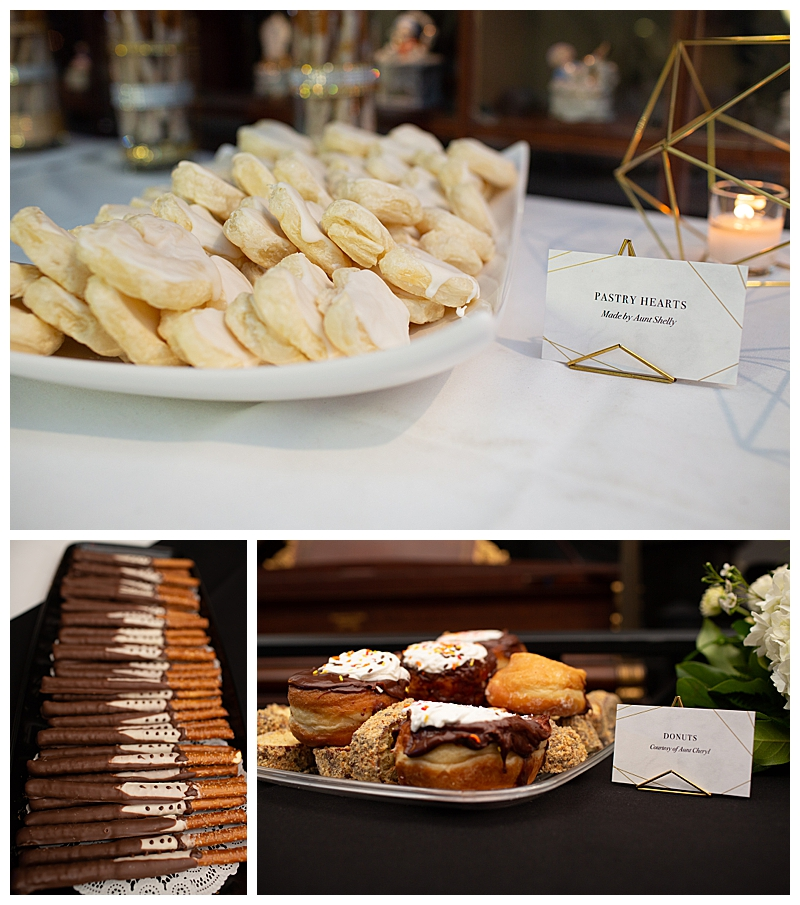 Desserts Made by Family Members for Wedding