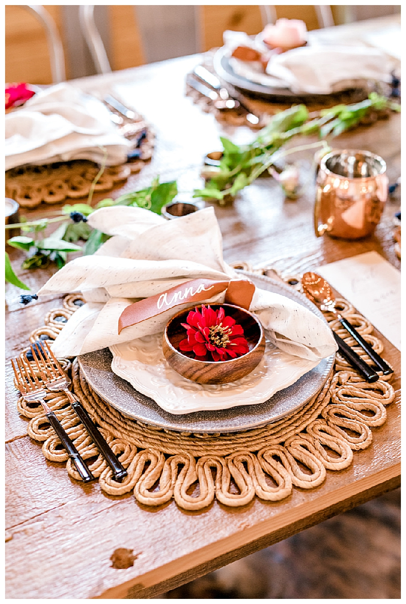 Earth-Toned Tablescape with Southwestern Details