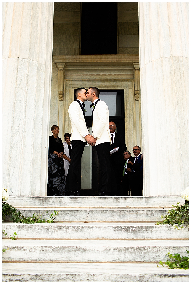 First Kiss as Husband and Husband