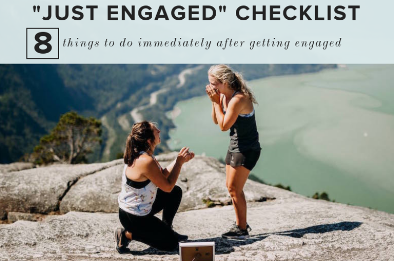 "Image for Our ""Just Engaged"" Checklist: What to Do Immediately After Getting Engaged"