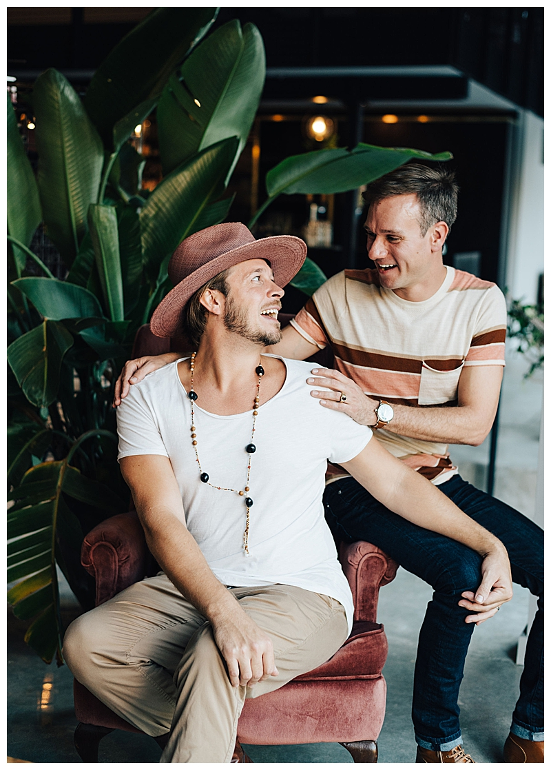 LGBT New Orleans Engagement Shoot