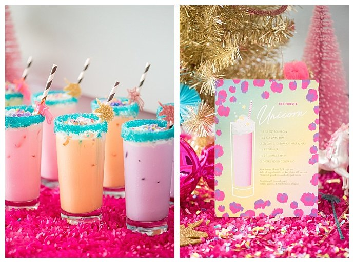 lisa frank inspired cocktails