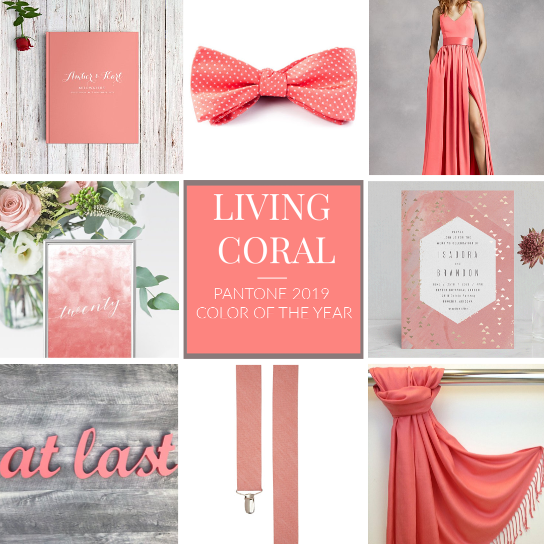 Living Coral Pantone 2018 Color of the Year