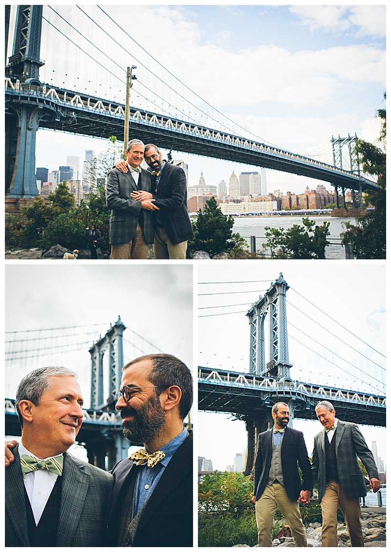 Manhattan Bridge Engagement Shoot