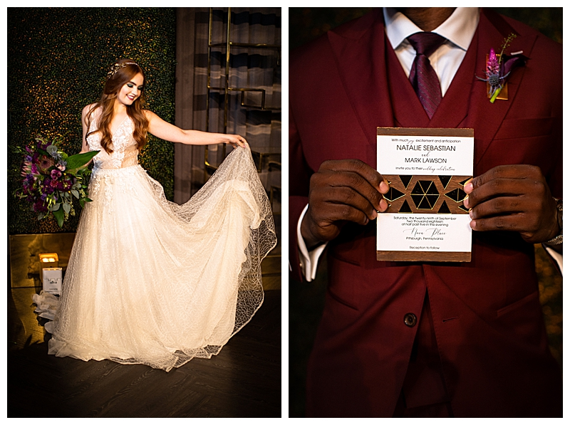 maroon-and-metallic-wedding-inspiration