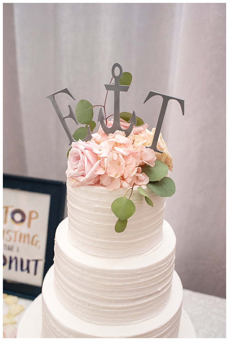 Nautical Wedding Cake Topper