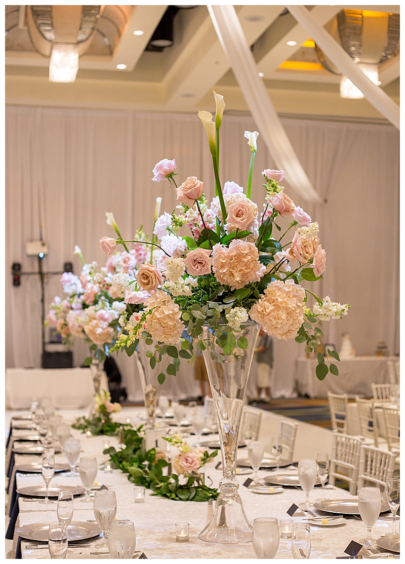 Pink and Rose Hydrangeas Wedding Flowers
