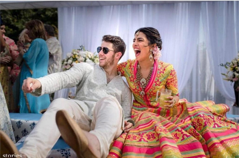 Image for Priyanka Chopra and Nick Jonas Share Photos From Their Epic Wedding Weekend