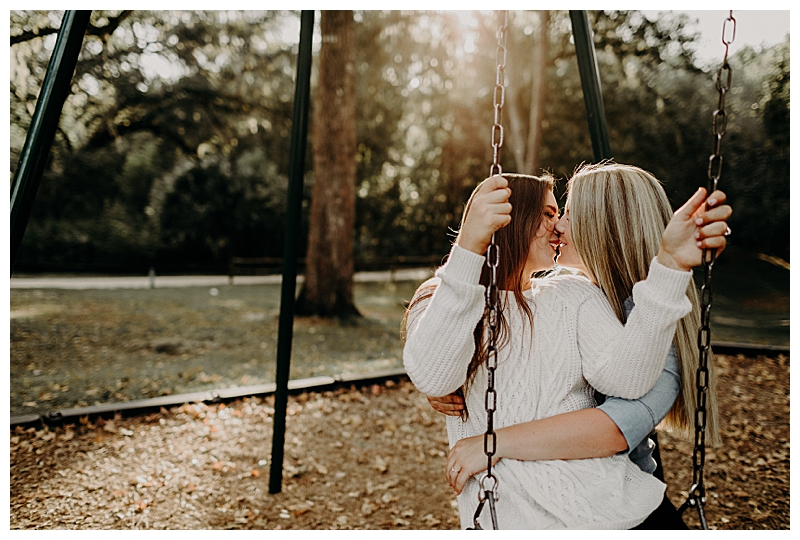 Swingset Engagement Shoot Inspiration