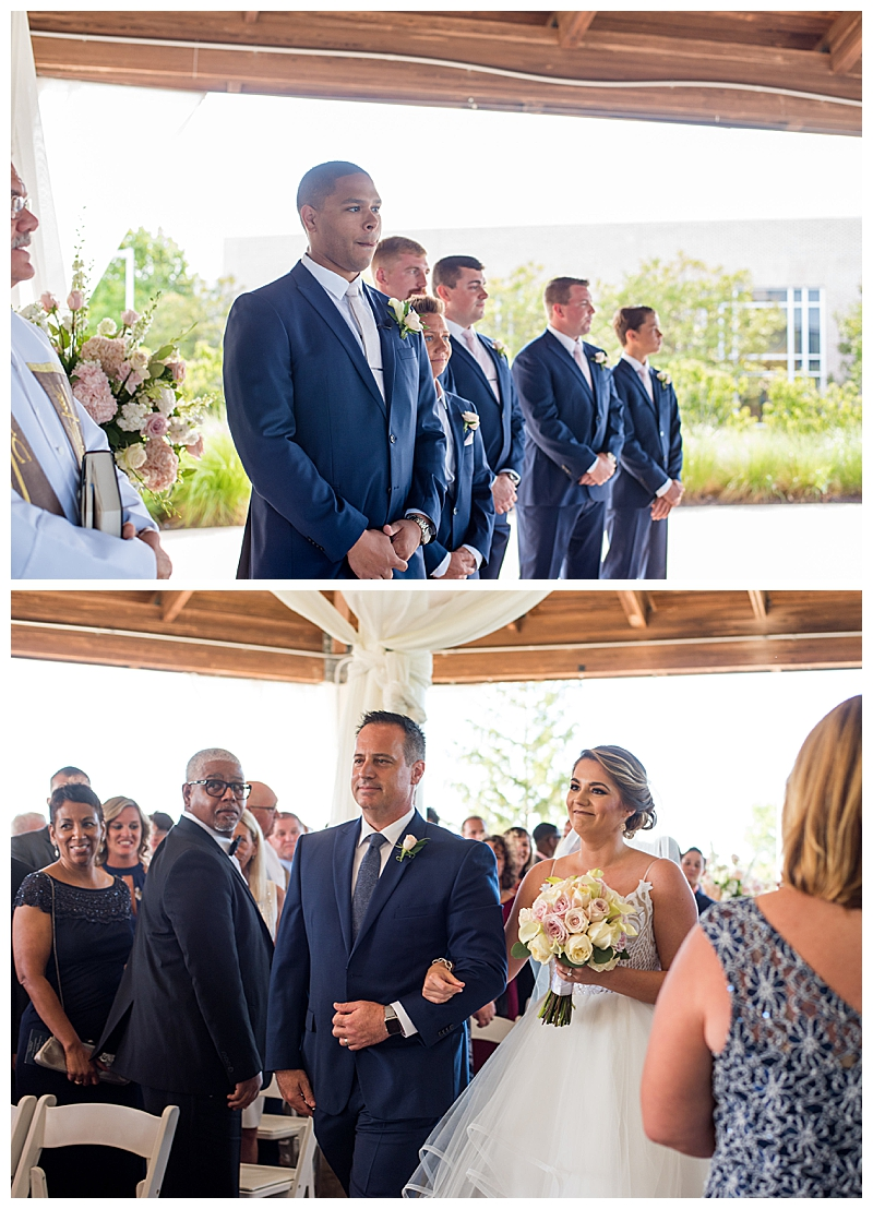 Walking Down the Aisle Photography by J.Nicole Photography