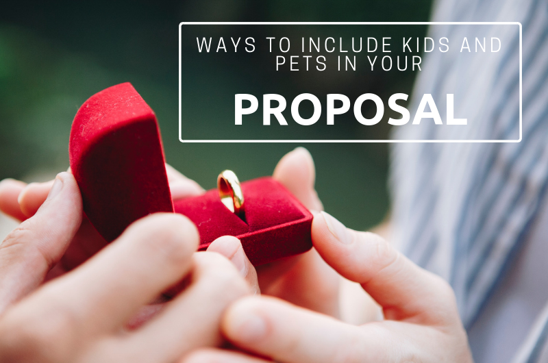 Image for 7 Ways to Involve Your Kids and Pets in a Marriage Proposal