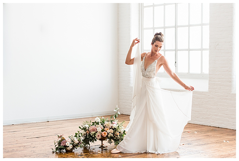 Ballerina Inspired Wedding Dress