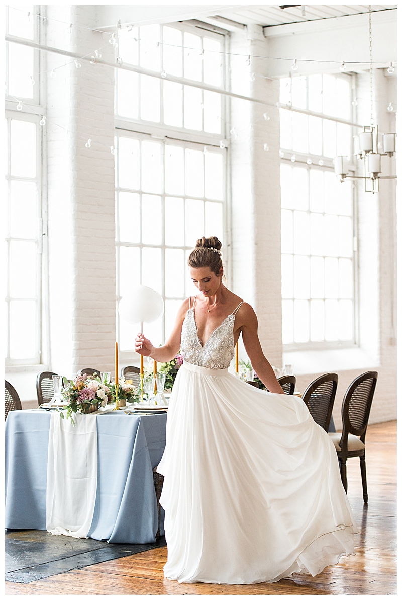 Ballerina Inspired Wedding