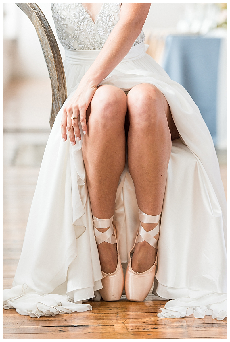 Ballerina Shoes Bridal