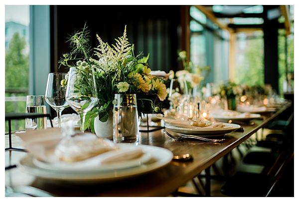 District Winery Wedding Reception