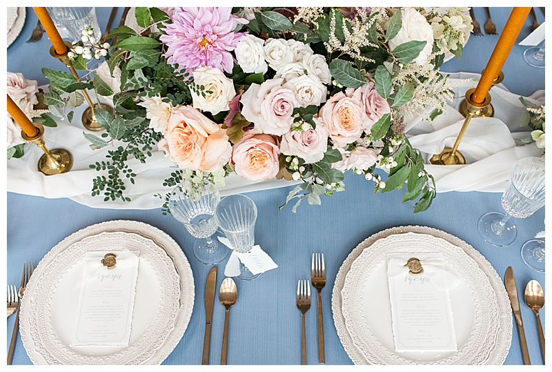 Elegant Place Settings for Wedding