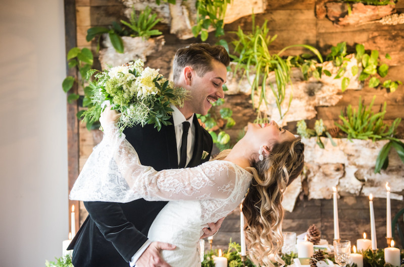 Image for Grab a Cup of Cocoa and Enjoy This Cozy Winter Wedding Inspiration