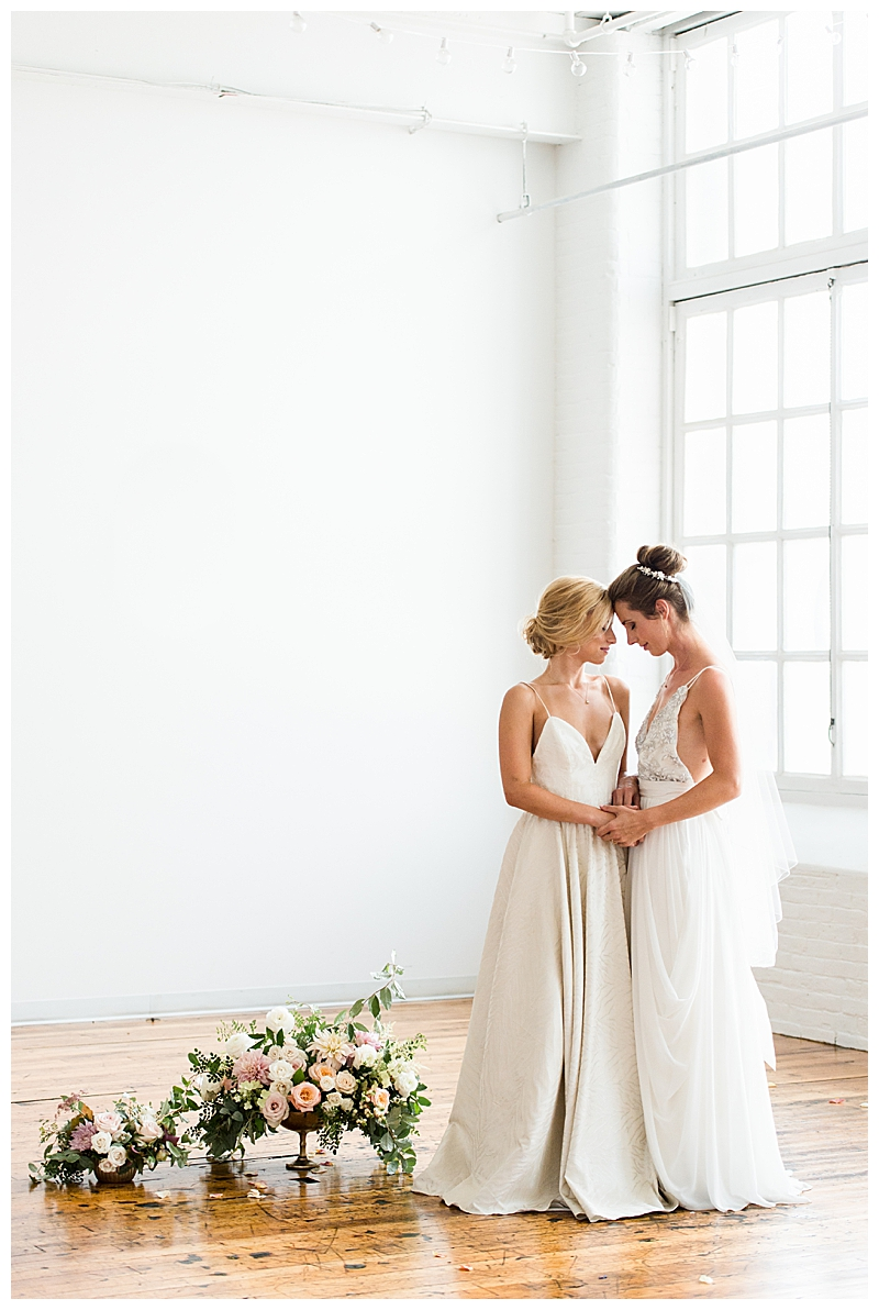 Two Brides Ballerina Wedding Inspiration