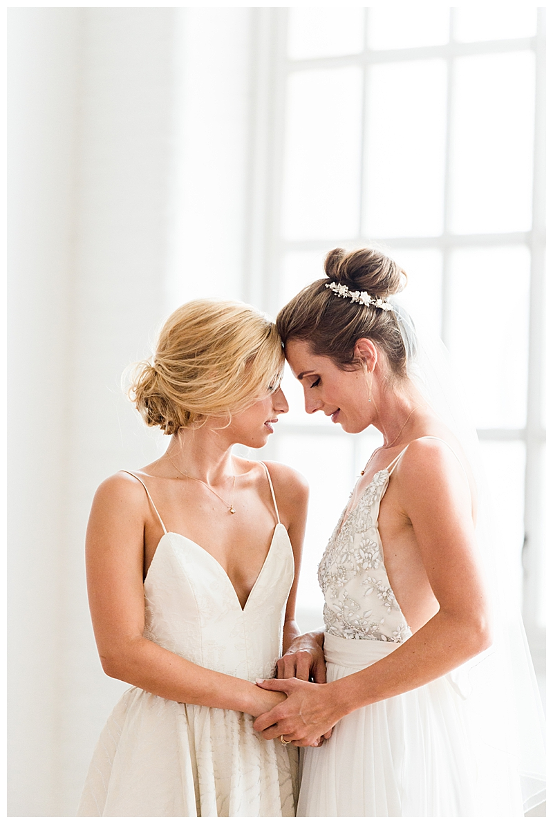 Two Brides Elegant Wedding Inspiration