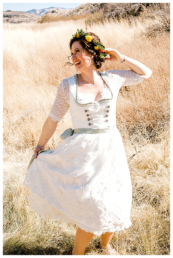 German Wedding Dirndl
