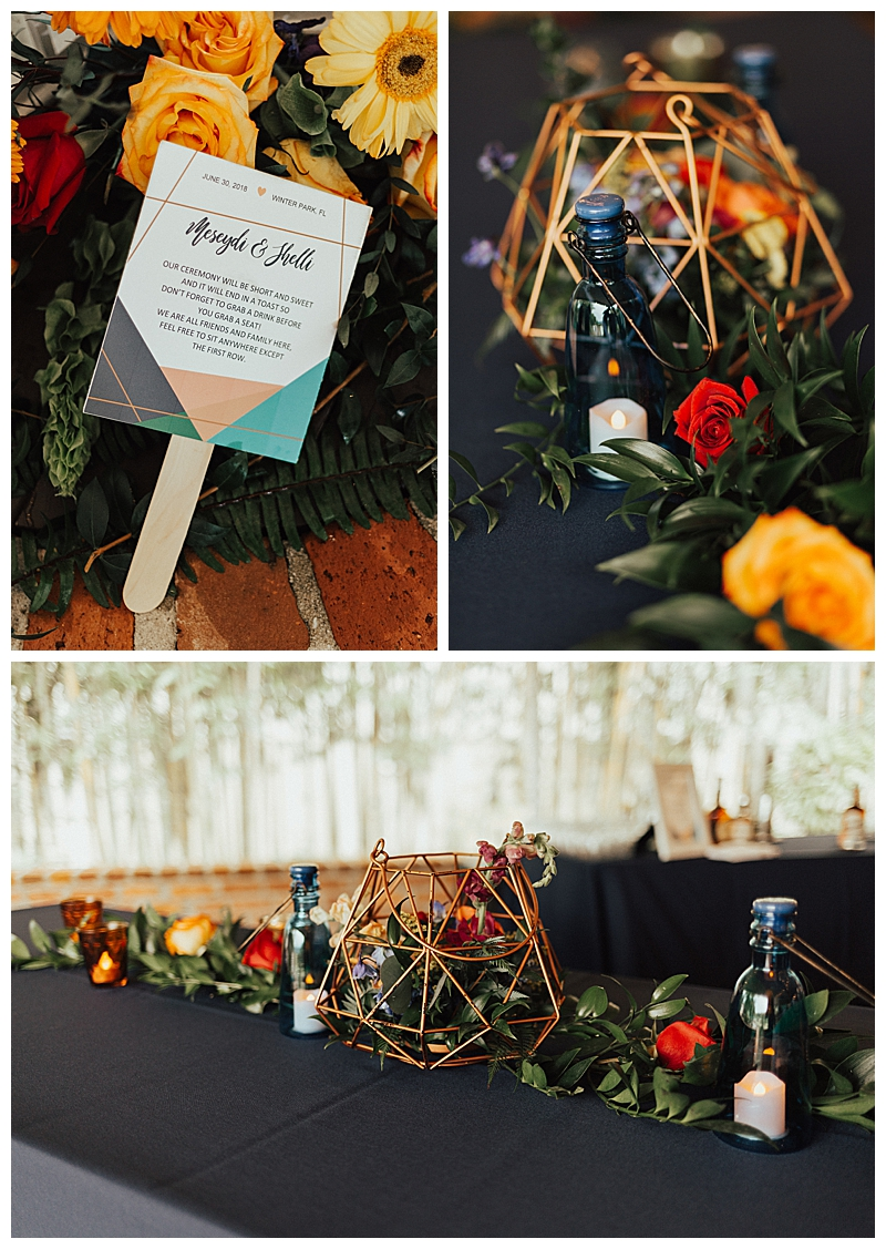 geometric-wedding-tabletop-decor