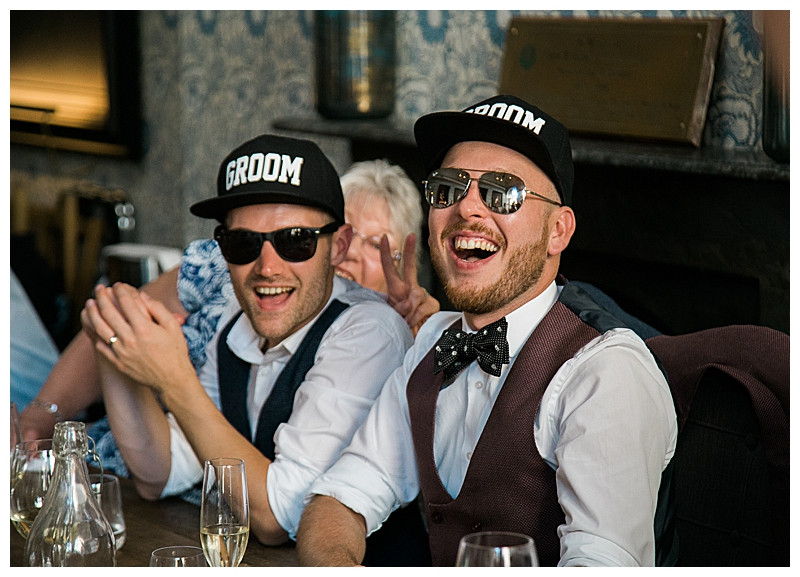 Matching Grooms Hats
