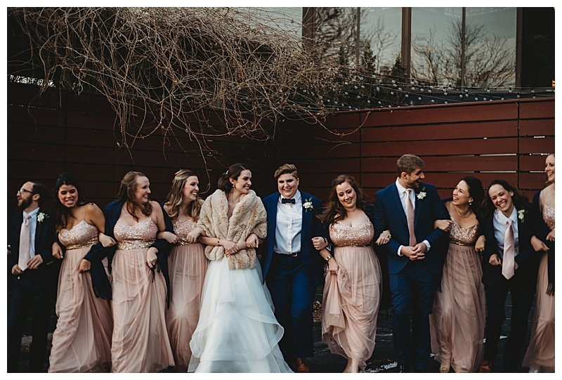 navy-and-rose-gold-wedding-party