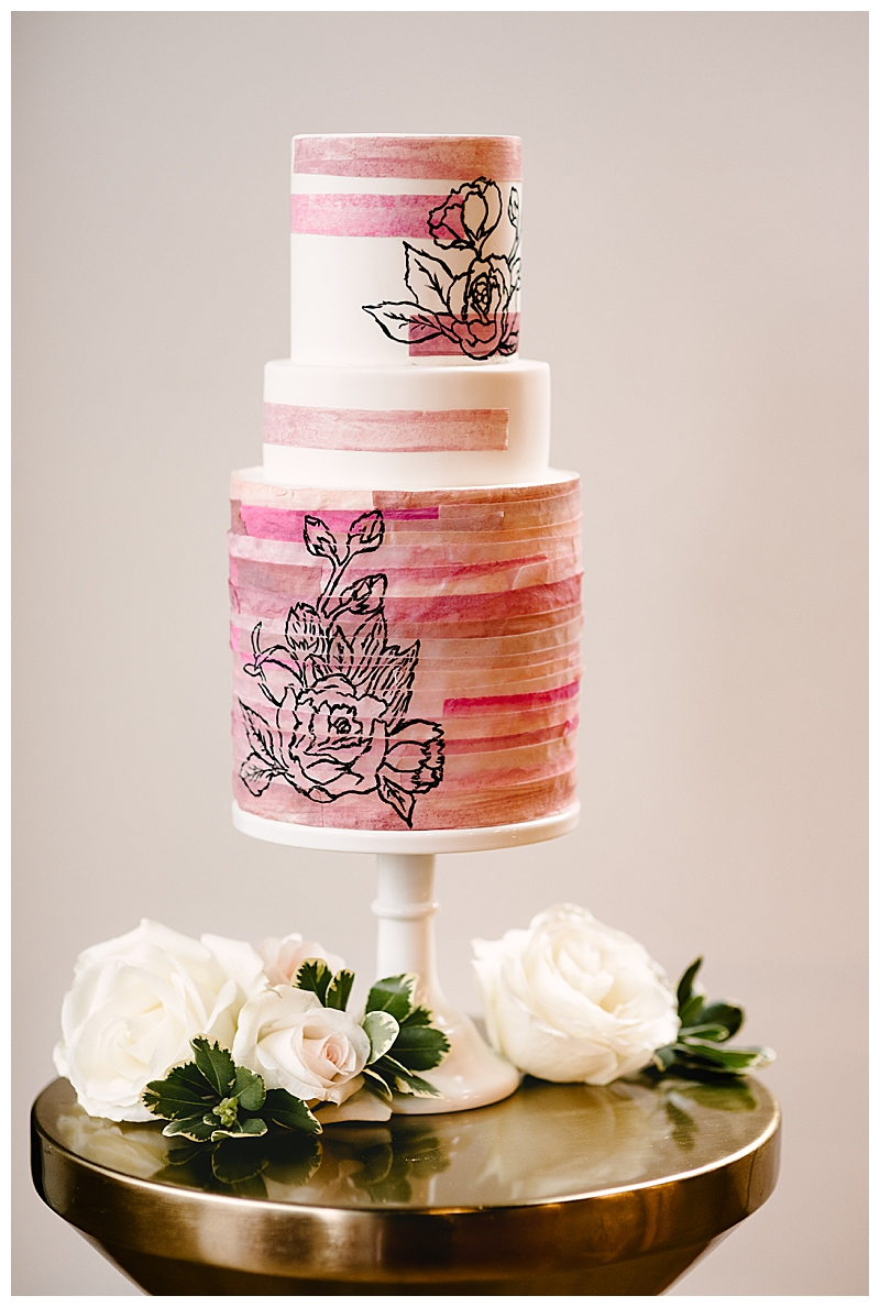 pink-ombre-wedding-cake