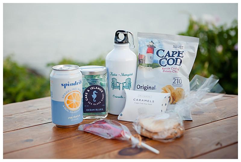 Cape Cod Wedding Welcome Bag Ideas