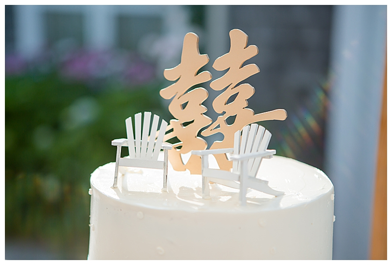 Chinese Wedding Cake Topper