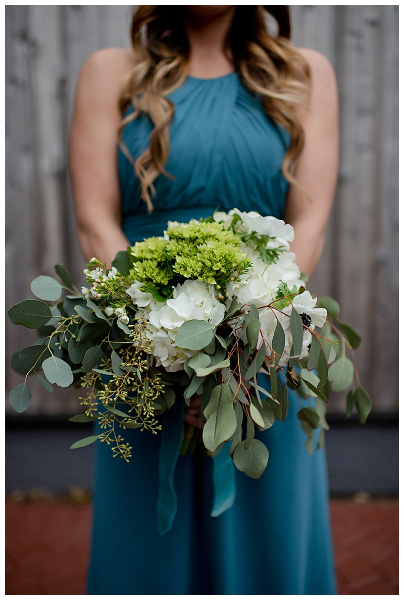 Eucalyptus Bridesmaid Bouquet