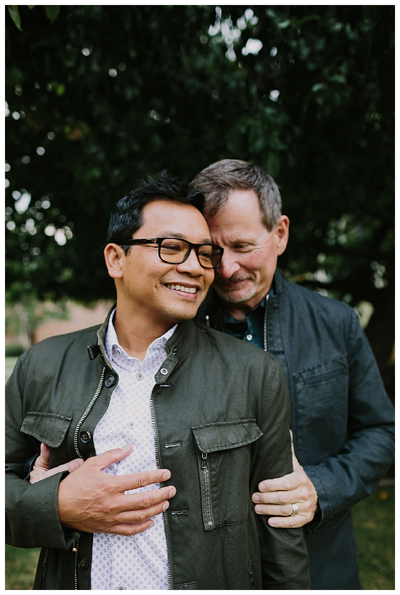 Gay Engagement Session in San Diego Heritage Park
