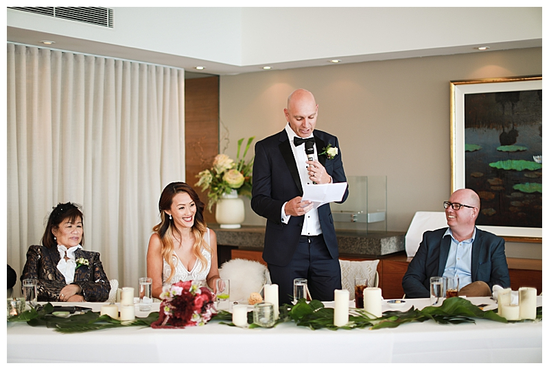 Intimate Restaurant Wedding at Rickys in Australia