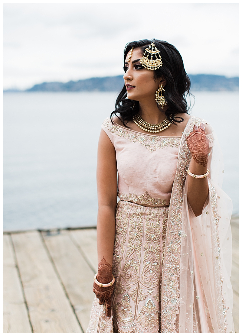 Light Pink Lehenga with Embroidery