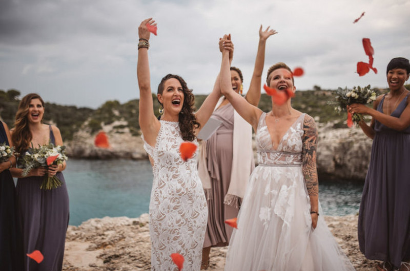 Image for An Intimate Cliffside Destination Elopement in Beautiful Menorca Spain