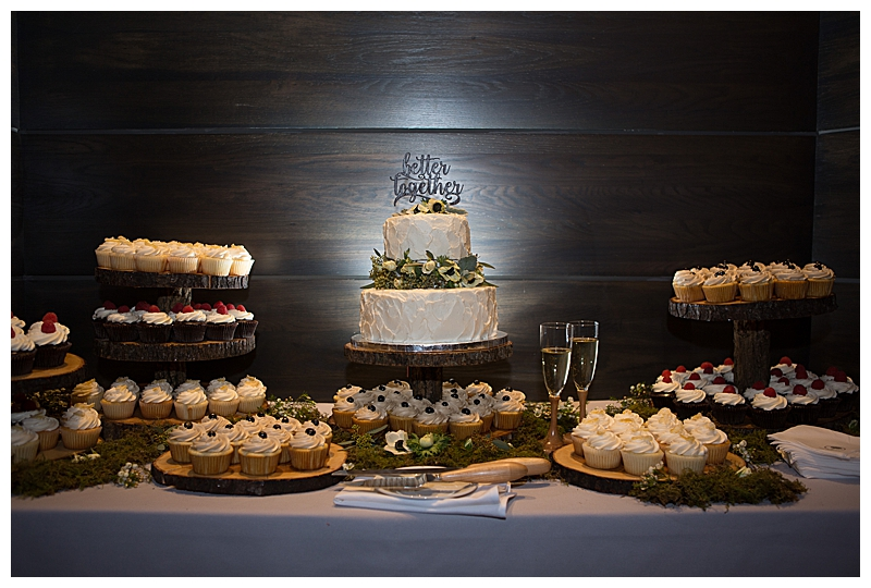 Wedding Cake Dessert Station