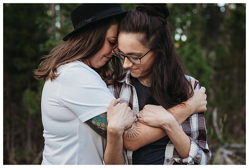 Wyoming Outdoor LGBTQ Engagement Shoot