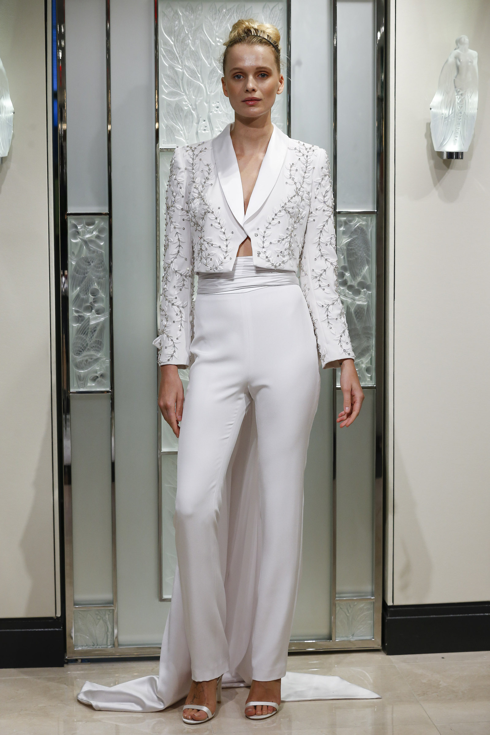 Bridal Blazer Spring 2020 Wedding Dress Trends Gracy Accad