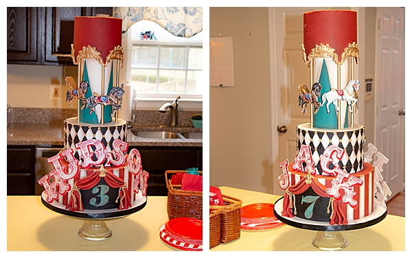 carousel-circus-themed-birthday-cake