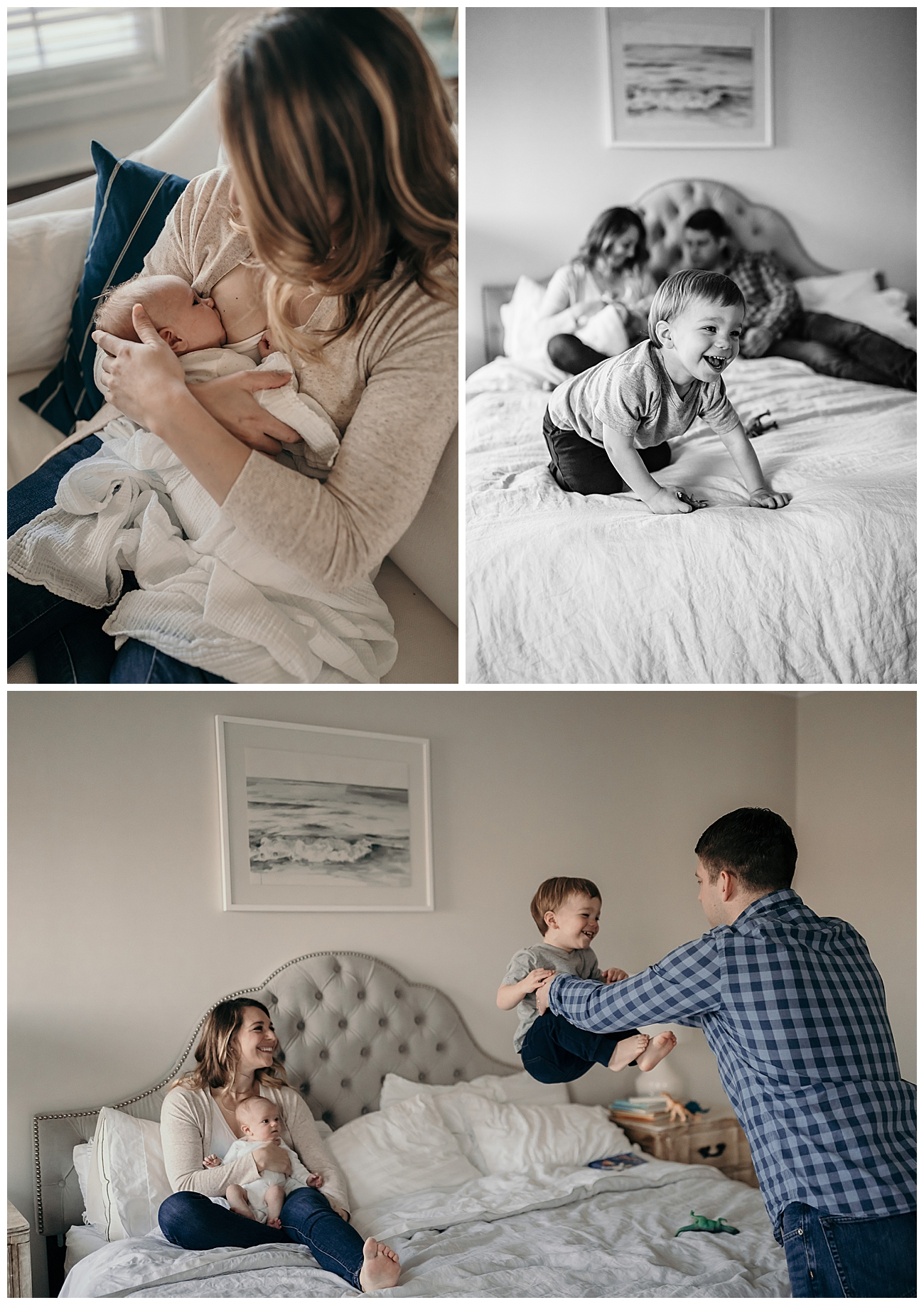 Family Session with Newborn