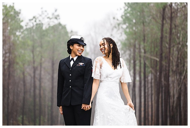 LGBTQ Military Wedding
