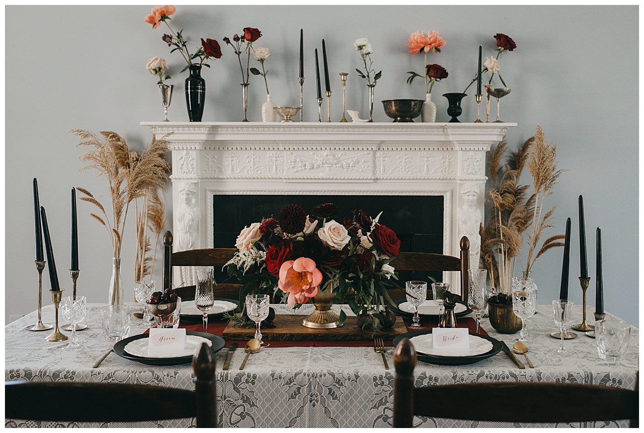 Shabby Chic and Moody Wedding Decor